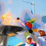 The WU2017 torch relay was tested in Almaty