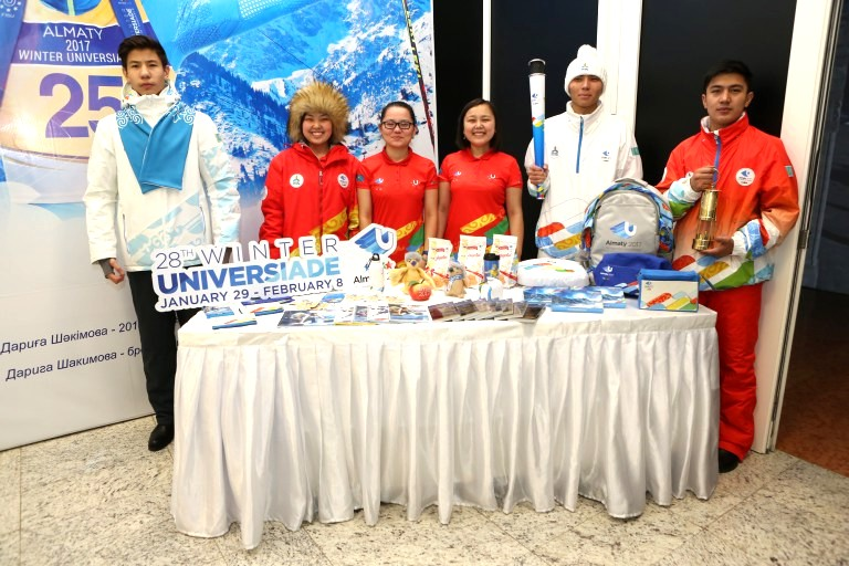 """The main attributes of the Universiade-2017 are presented at """"Almaty - Golden Cradle of Independence"""" exhibition"""