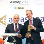 Air Astana: The Official Air Carrier for WU 2017 Flame