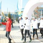 Torchbearers of Karaganda Region Have Faith in the Victory of Kazakhstani Athletes