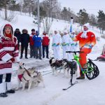 Torchbearers in Pavlodar successfully held the Universiade torch relay
