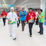 The Flame of the 28th World Winter Universiade 2017 has been successfully delivered to Almaty